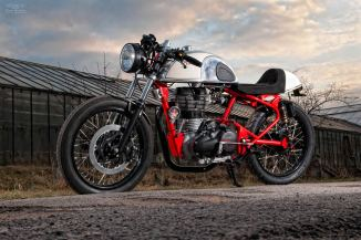 Royal Enfield cafe racer T-Factor Bikes 3