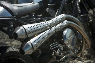 Ducati Monster S2R 800 exhaust