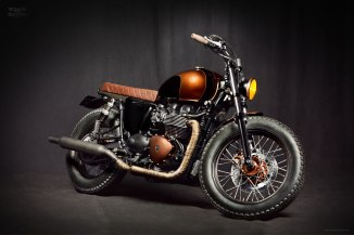 Triumph Bonneville EFI by Ton-up Garage