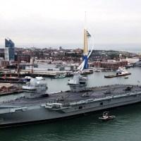 Conheça o maior porta-aviões britânico, o HMS Queen Elizabeth