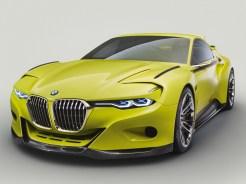 """Der neue BMW 3.0 CSL Hommage – ein großer Frontsplitter aus Carbon zeichnet gemeinsam mit der Niere eine moderne Interpretation der damals sehr markanten """"Sharknose""""."""