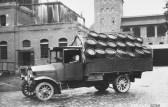 Voll beladener MAN Lkw Typ KVB Brauhaus Nürnberg 1924