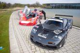 Die Nummer 59 erreichte 1995 in Le Mans ein Durchschnittsgeschwindigkeit von 168,992 km/h - Boxenstopps inklusive. (Werksfoto)