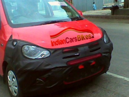 Hyundai i10 has been spied yet again and new photos reveal engine details. More on Motoroids.com