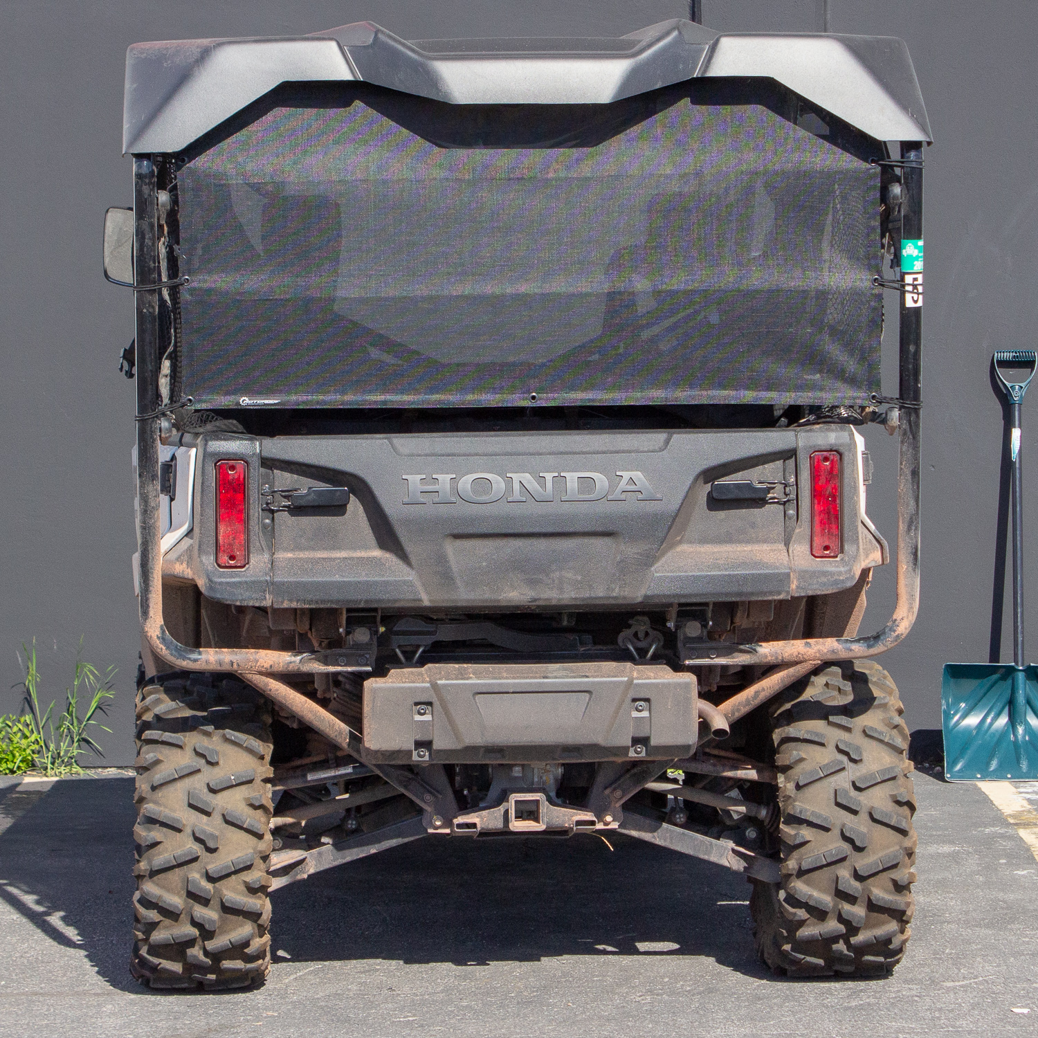 Rear Window Honda Pioneer 1000 5 Rear Cab Black