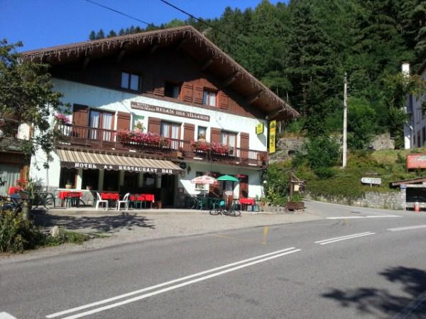 Ländliches Hotel in Seez in den französischen Westalpen