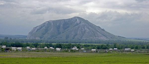 Berg Juraktau in Baschkortostan bei Sterlitamak im Südural in der Russischen Föderation