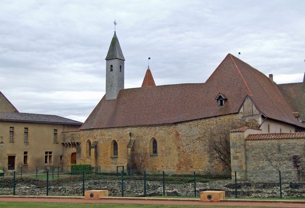 Ruine der Abtei Charlieu in Burgund