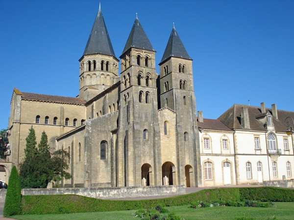 Basilika Paray-le-Monial Burgund