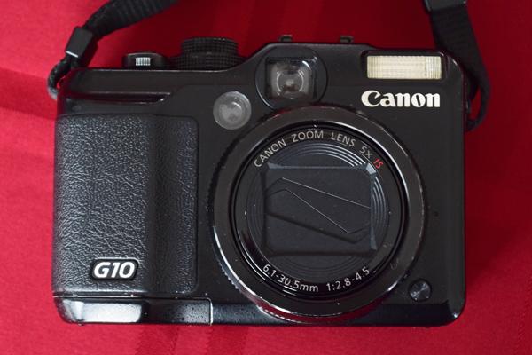 Digitalkamera Canon Powershot G10 als Teil der Fotoausrüstung für die Motorradtour