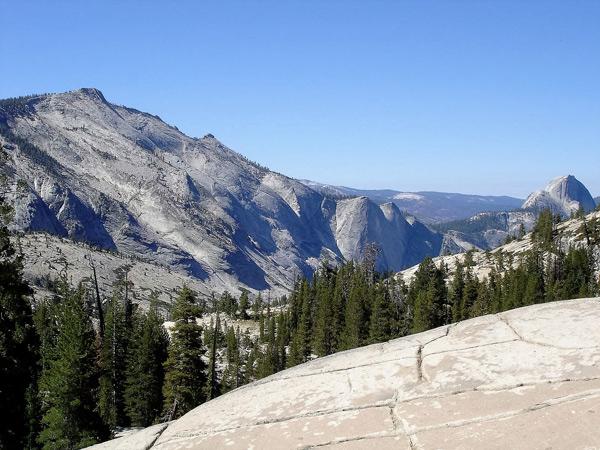 Blick auf den El Capitan im Yosemite Park bei einer Motorradtour durch die Rocky Mountains