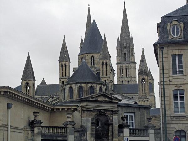 Abbaye aux Hommes in Caen