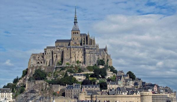 Mont Saint-Michel an der französischen Atlantikküste