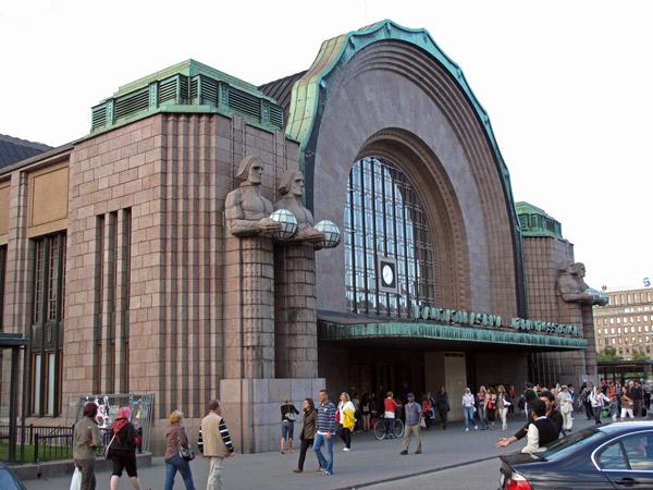 Hauptbahnhof von Helsinki