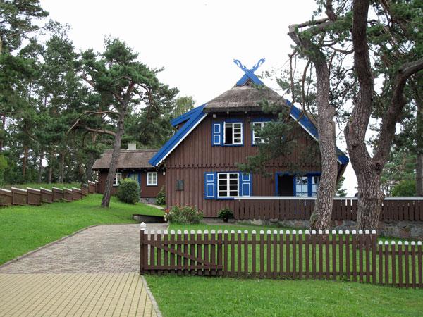 Sommerhaus von Thomas Mann in Nida auf der Kurischen Neherung