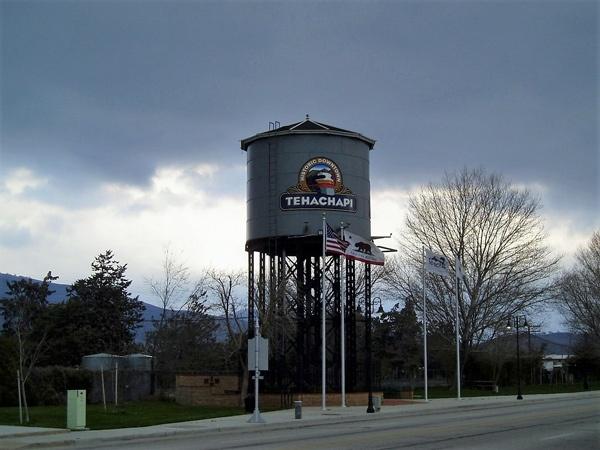 Wasserturm in Tehacapi, CA