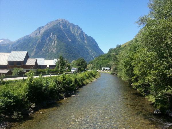 Motorradtour zum Croix de Fer und Galibier: Auffahrt zum Croix de Fer bei Allemont (Dept. Savoie, Frankreich)