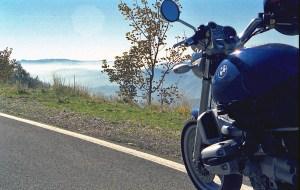 Rast auf Motorrad-Traumstrassen in den Abruzzen