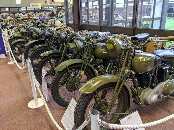 Britische Motorräder für den Einsatz im 2. Weltkrieg