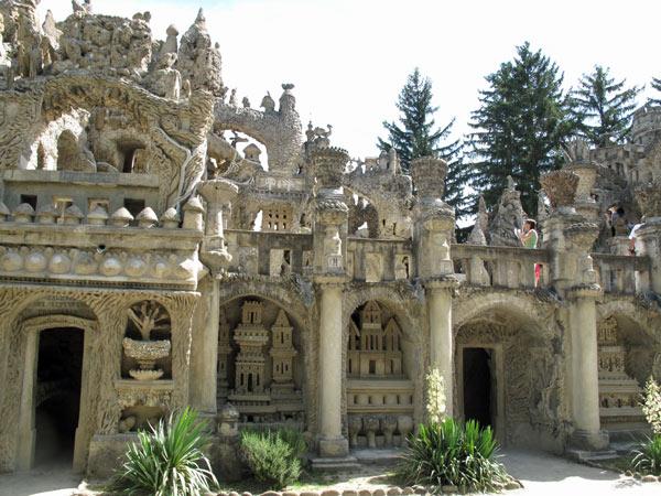 Palais Ideal in Hauterives, Frankreich