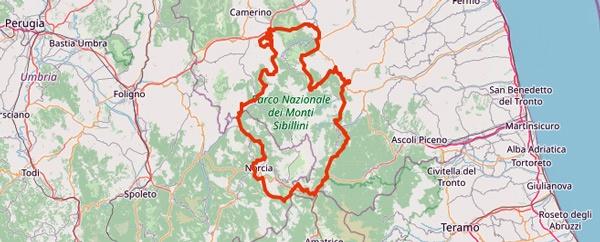 Tourentipps für den Motorradurlaub 2020: der Nationalpark Monti Sibillini
