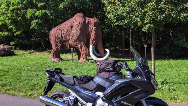 werbellinsee mammut motorrad