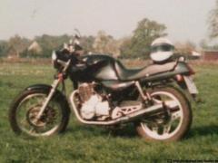 Honda XBR 500 (F-Modell, BJ 1985)