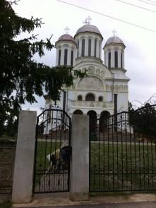 Biserica ortodoxa in Cincis-Cerna
