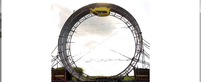 Car Looping Toyota Dunlop