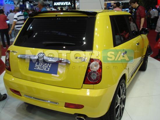 Fotos de Carros Chineses no Brasil - Lifan