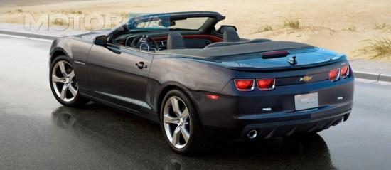 Fotos de carros - chevrolet camaro 2011 conversivel