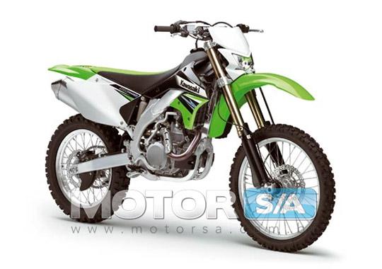 Fotos de motos - Nova Kawasaki KLX450R