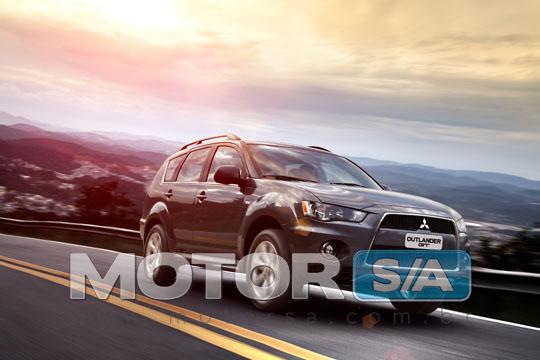 Nova Mitsubishi Outlander 2011 - fotos de carros