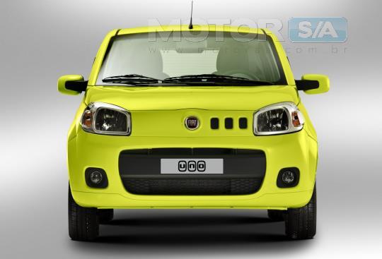 Fotos de Carros - Fiat Novo Uno 2012