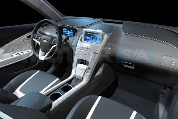 Chevrolet Volt Interior - Carro Híbrido