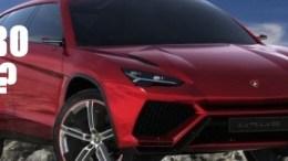 Lamborghini Aurus SUV