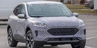 Spy Shots - Ford Escape 2020