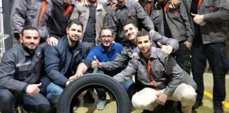 L'usine de production des pneumatiques IRIS Pneus