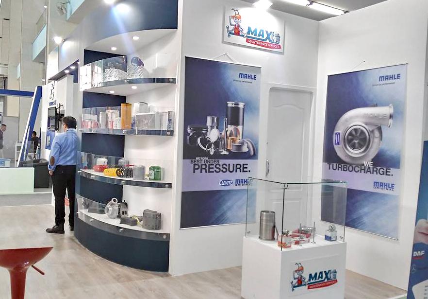 Stand de MAX MAINTENANCE SERVICES au salon Equip Auto
