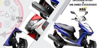 VMS industries lance le nouveau Scooter Urbain Cygnus