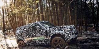 Le tout nouveau Land Rover Defender 2020