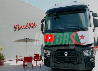 Modèle Renault Trucks assemblé en Algérie