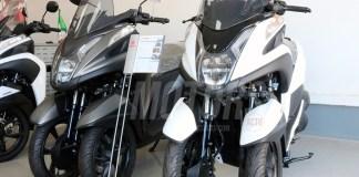 Yamaha Tricity 125cc - Showroom ProX4
