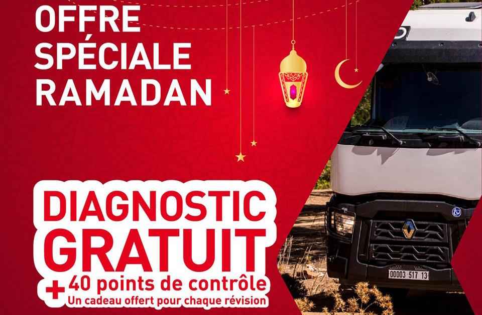 '40 points de contrôle gratuit' chez Renault Trucks El-Djazair