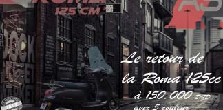 As Motors best-seller Roma 125cc