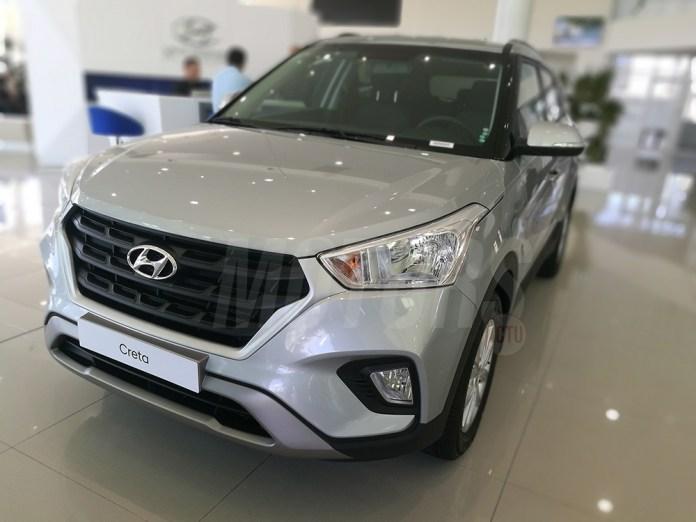 Hyundai CRETA facelift cima motors algérie
