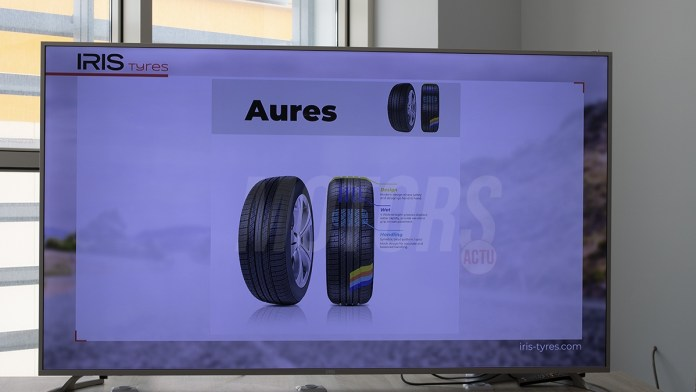 Iris pneus