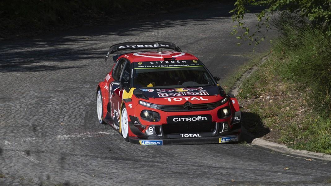 Citroen C3 WRC rallye d'allemagne