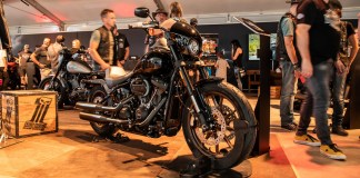 Harley-Davidson 2020 motorcycles on show at the European Bike Week in Austria