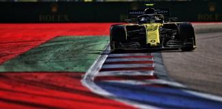 Renault F1 Team au Grand Prix VTB de Russie de Formule 1 2019